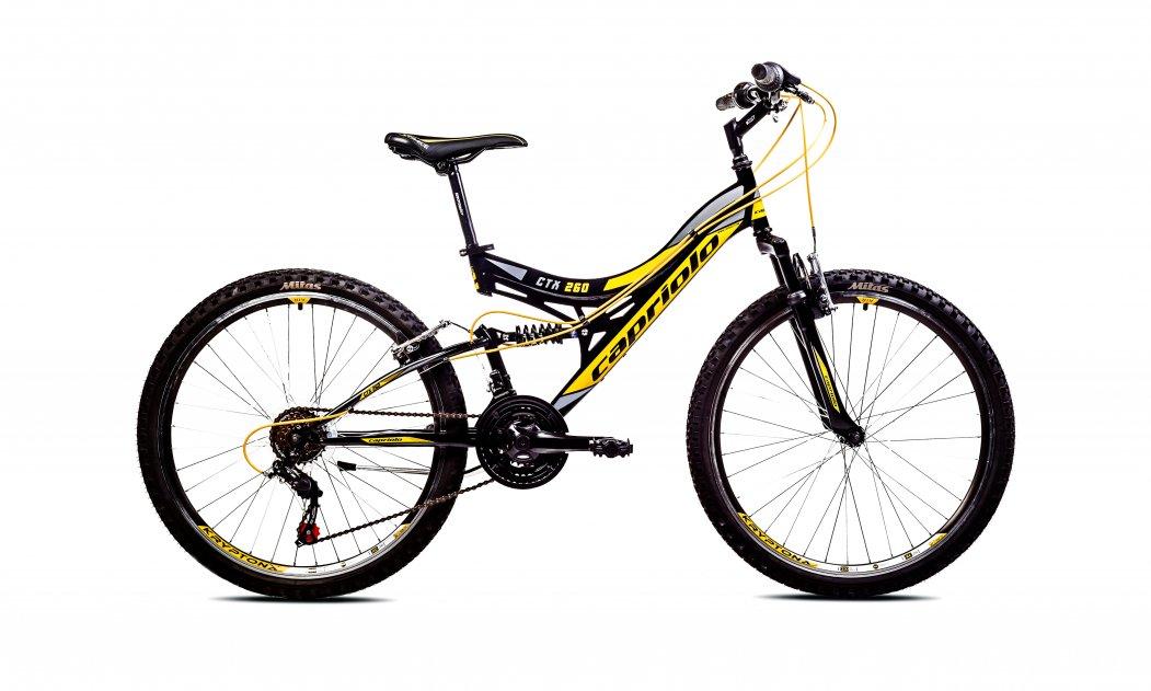 0d339d52cf0 CTX 260 crno žuto 2017 outlet | Capriolo bicikle i delovi za bicikle